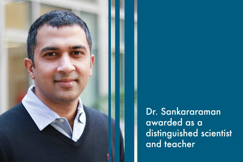 Dr. Sankararaman has been awarded a two-year fellowship from Microsoft Research.